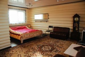 Кровать или кровати в номере Аллюр