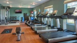 The fitness center and/or fitness facilities at Marriott Stanton South Beach