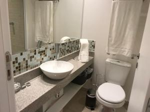 A bathroom at Studio Augusta