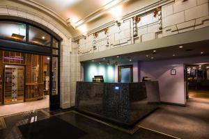 The lobby or reception area at ABode Glasgow
