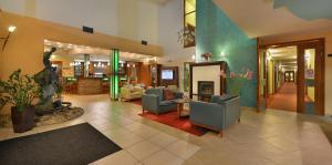Vstupní hala nebo recepce v ubytování Wellness Hotel Happy Star