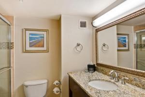 A bathroom at Embassy Suites Orlando - North