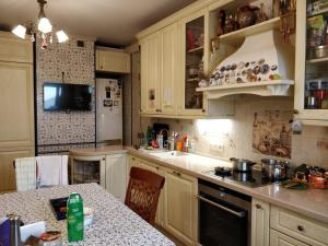 A kitchen or kitchenette at Bed and Breakfast in Moscow