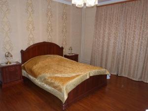 Кровать или кровати в номере Апартаменты Adrimi