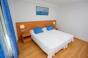 Cama o camas de una habitación en Gandia Playa