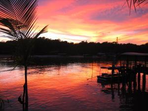 Blick auf den Sonnenuntergang/Sonnenaufgang von der Pension aus oder aus der Nähe