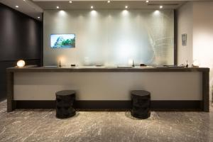 The lobby or reception area at The Royal Park Canvas Nagoya
