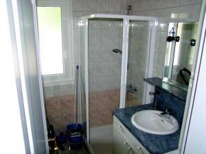 Salle de bains dans l'établissement L'Éden des Champs