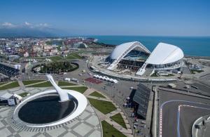 Hotel Milana Olympic Park с высоты птичьего полета