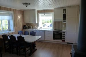 Cucina o angolo cottura di Skåbu Hytter og Camping