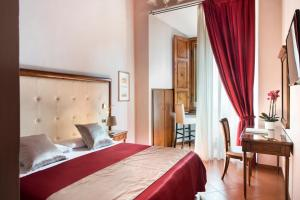 Cama ou camas em um quarto em Leon Bianco