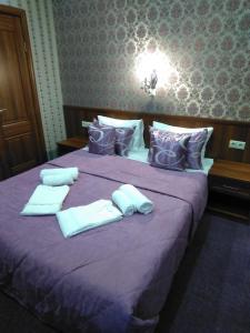 Кровать или кровати в номере Мини-Отель Аска