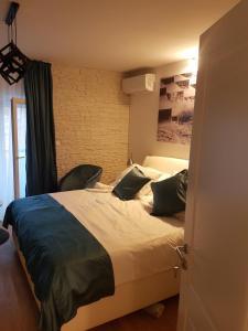 Cama o camas de una habitación en La Dolce Vita