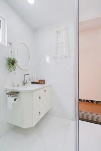 Salle de bains dans l'établissement Chez Mimosa - Boutique Hotel