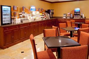 A restaurant or other place to eat at Days by Wyndham North Bergen
