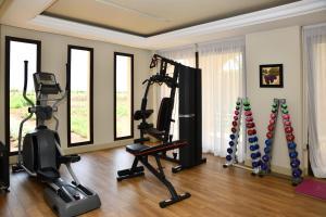 Salle ou équipements de sports de l'établissement Château Roslane Boutique hôtel & Spa