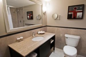 A bathroom at Crowne Plaza Gatineau-Ottawa, an IHG Hotel