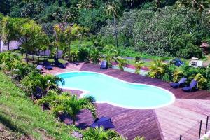 Uma vista da piscina em MOOREA - Villa Fetia ou nos arredores