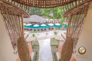 Vista sulla piscina di Pearl of Trawangan o su una piscina nei dintorni