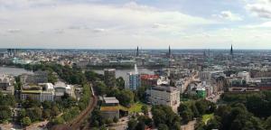 A bird's-eye view of Park Inn by Radisson Stuttgart