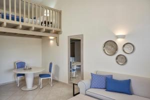 A seating area at Skiathos Luxury Living