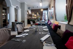 A restaurant or other place to eat at Hotel Sigulda