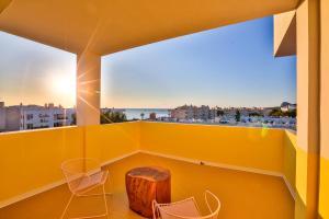 Un balcón o terraza de Paradiso Ibiza Art Hotel - Adults Only