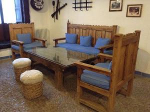 Zona de estar de Hotel Mesón de Don Quijote