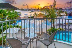 A view of the pool at Harbor Club St Lucia, Curio Collection by Hilton or nearby