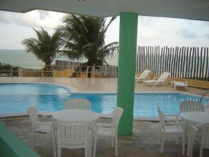 A piscina localizada em Atlántico Flat ou nos arredores
