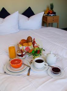 Frühstücksoptionen für Gäste der Unterkunft Hotel Regenbogenhaus