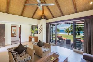 A seating area at Eratap Beach Resort
