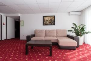 A seating area at Аtria Hotel