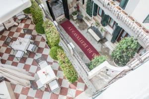 Blick auf Hotel Ai Cavalieri di Venezia aus der Vogelperspektive