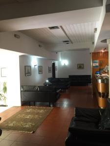 The lobby or reception area at Hotel Villa Marina