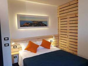 Giường trong phòng chung tại InCentro B&B