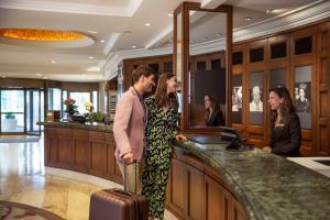 The lobby or reception area at Hilton Istanbul Bosphorus