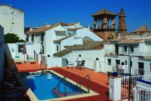 Vista de la piscina de Hotel Infante Antequera o alrededores
