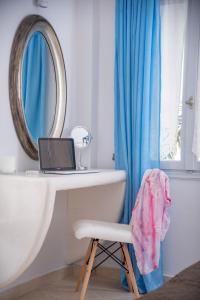 Salle de bains dans l'établissement Anezina Villas