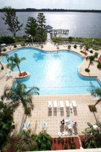 A view of the pool at Blue Heron Beach Resort or nearby
