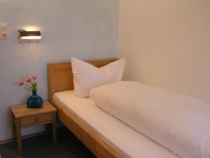 Cama o camas de una habitación en Humboldt-Haus