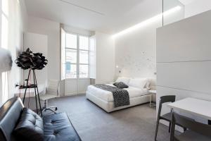Area soggiorno di Nostos rooms & Apartments