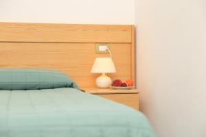 Ein Bett oder Betten in einem Zimmer der Unterkunft Hotel Soleado