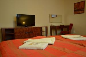 Postel nebo postele na pokoji v ubytování Hotel Vion