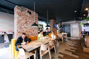 A restaurant or other place to eat at CityHub Amsterdam