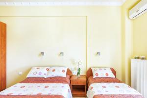 Ein Bett oder Betten in einem Zimmer der Unterkunft Casa Di Mare