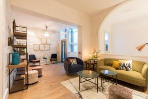 Zona de estar de VEINTIUNO Emblematic Hotels - Adults Only