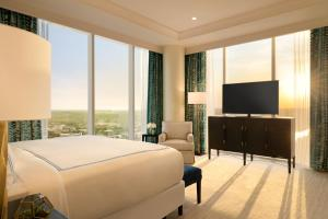 A television and/or entertainment center at Fairmont Austin