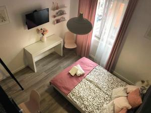 A bed or beds in a room at Dolce Vita Rumbach