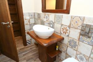 A bathroom at Campeggio Sanfilippo